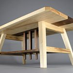 Coffee Table from Below