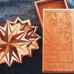 Star Box and Carved Box