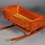 Cradle in Mahogany and Ash