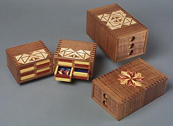 Jewelry Boxes - Kurt Meyer Fine Woodworking View portfolio