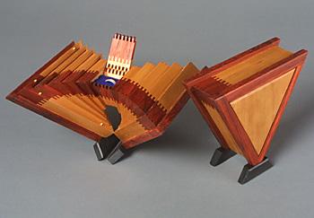 Triangular Ring Boxes Kurt Meyer Fine Woodworking